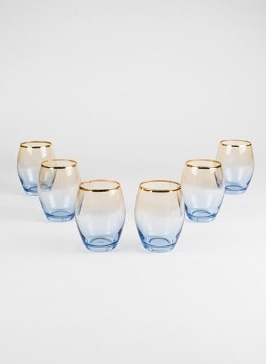 Rakle 390 cc Serenade 6'lı Meşrubat Bardağı Seti Kobalt Mavi